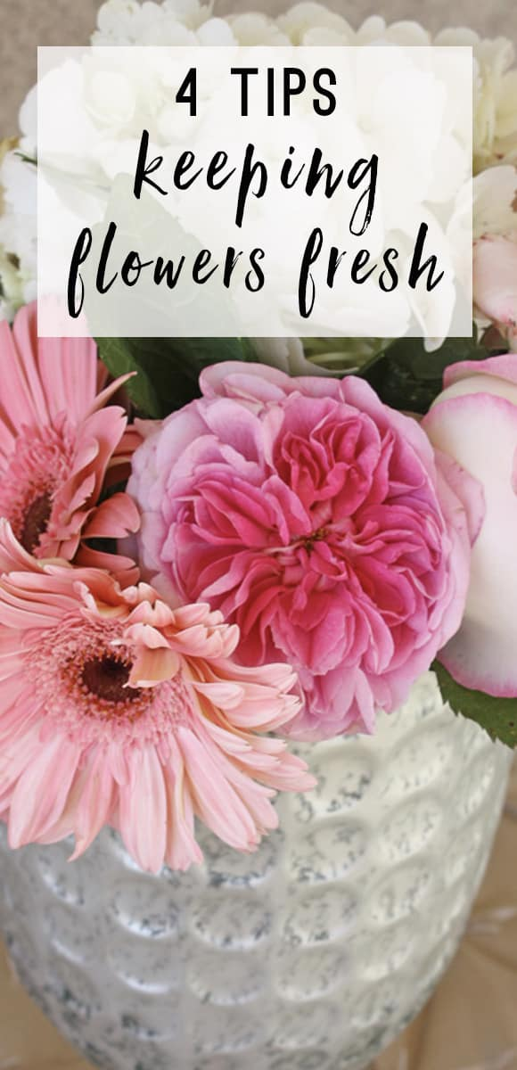 How To Keep Cut Flowers Fresh Thoughtfully Simple